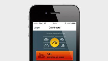 Volvo Trucks Dynafleet Fuel and Environment-app