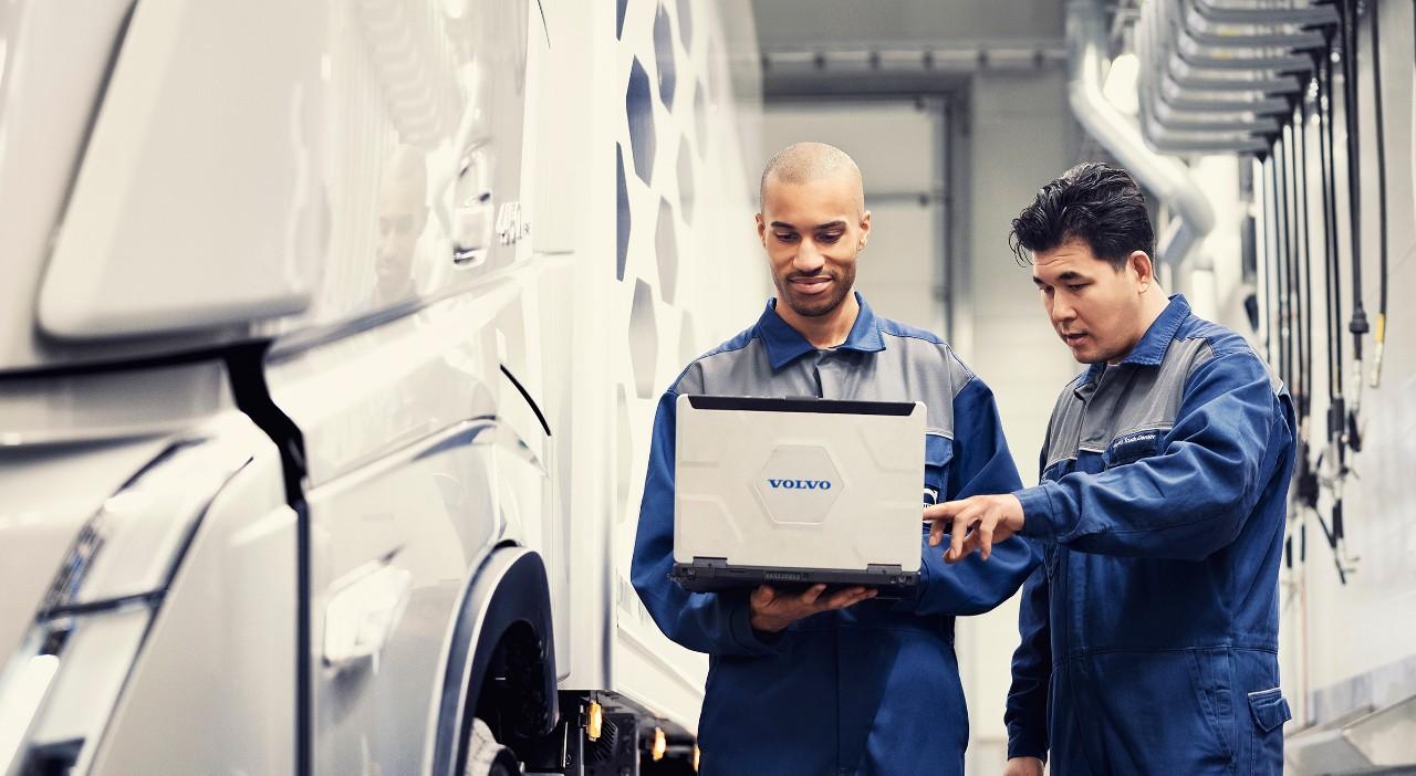 Genuine Volvo Service uitgevoerd met originele Volvo-onderdelen