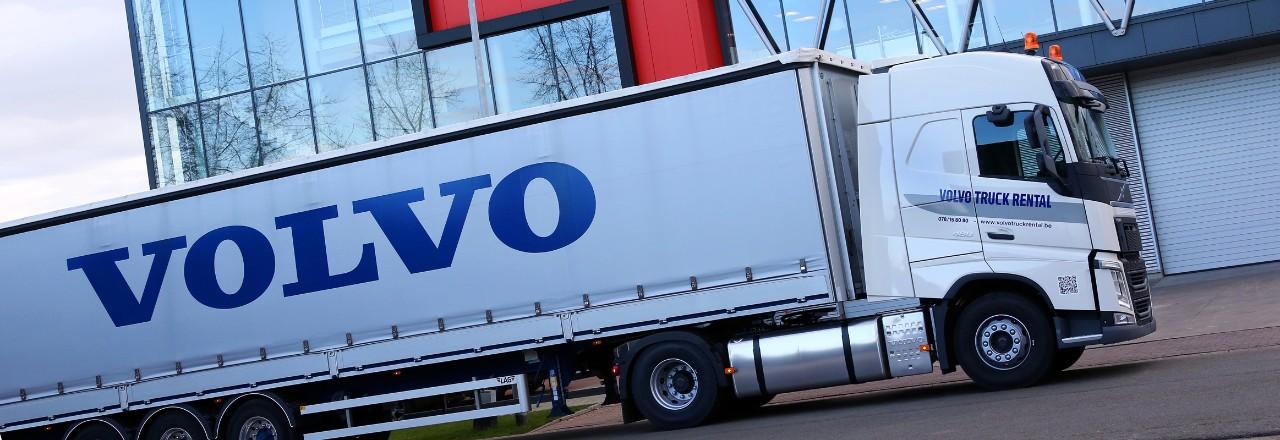 Volvo Truck Rental is een flexibele partner